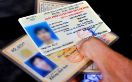 Đối tượng nào không biết chữ vẫn được cấp bằng lái?