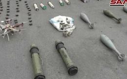 """Bí mật bất ngờ trong kho vũ khí """"khủng"""" phiến quân để lại ở Nam Syria"""