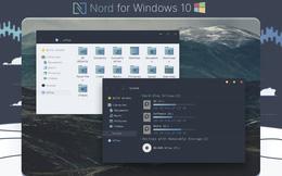 Hướng dẫn cài Nord Windows 10 Theme, giao diện nền tối siêu chất
