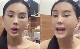 Lâm Khánh Chi gây hoang mang khi xuất hiện với gương mặt đơ cứng và mí mắt sưng to khác lạ