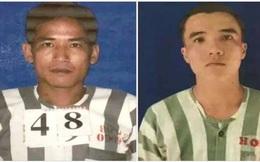 Đã bắt được 2 phạm nhân đang thụ án giết người trốn khỏi trại giam