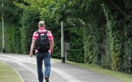 Cãi nhau với vợ, người đàn ông đi bộ 420 km để xả stress
