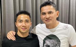 """Sát ngày lên đường gặp bầu Đức, Kiatisuk bất ngờ tái ngộ """"Messi Thái"""" Chanathip Songkrasin"""