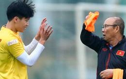"""HLV Park Hang-seo doạ Hoàng Đức """"giật bắn mình"""" hoảng hốt"""