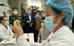 Những hình ảnh đầu tiên tiêm thử nghiệm vaccine COVID-19 tại Việt Nam
