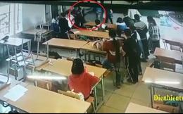 Xôn xao vụ phụ huynh xông vào tận lớp đấm, đá học sinh lớp 6 ở Điện Biên
