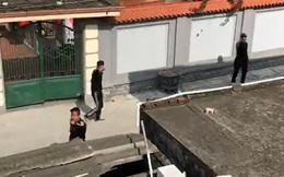 Gần 20 thanh niên cầm hung khí gây náo loạn ở Hải Phòng
