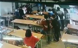 Vụ phụ huynh xông vào lớp đánh học sinh ở Điện Biên: Gia đình yêu cầu trường trích xuất camera tại lớp