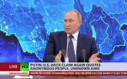 Putin: Cáo buộc tin tặc Nga can thiệp bầu cử Mỹ là nhằm phá hoại quan hệ Mỹ-Nga