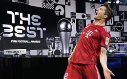 Vượt Ronaldo & Messi, Lewandowski đoạt giải The Best 2020