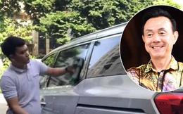 """Thương tiếc cố NS Chí Tài, hàng xóm mang nước lau chùi ô tô, săn sóc chiếc xe """"mất chủ"""""""