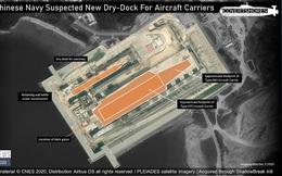 Trung Quốc đang nâng cấp căn cứ cho tàu sân bay ở đảo Hải Nam?