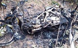 Bắt nhóm người đốt 5 xe máy của bảo vệ rừng