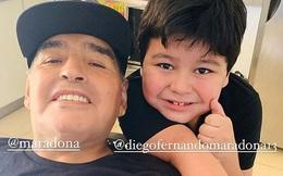 """Lời nhắn cuối cùng của huyền thoại Maradona gửi cho bạn trai của tình cũ trước lúc mất: """"Hãy chăm sóc cô ấy và thiên thần nhỏ của tôi"""""""