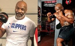 """Ít lâu sau ngày tái xuất, Mike Tyson đã bắt tay vào tập luyện trở lại, gây ấn tượng với bộ kỹ năng """"không phải dạng vừa"""""""
