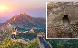 Phát hiện đường hầm bí ẩn bên dưới Vạn Lý Trường Thành của Trung Quốc