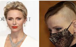 Hóa ra đây là lý do khiến Vương phi Monaco rũ bỏ vẻ đẹp nữ thần để nổi loạn với mái tóc cạo nửa đầu khiến bao người choáng váng