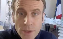 Tổng thống Pháp nói mắc COVID-19 một phần vì xui