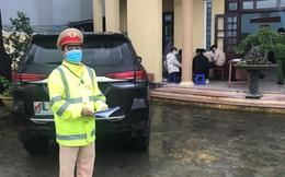 Phát hiện xe chở thuê nhóm người Trung Quốc từ Hà Nội đi Quảng Ngãi