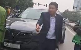 Tài xế ô tô say xỉn định rời khỏi hiện trường sau va chạm giao thông