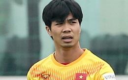 Công Phượng nhận tin không vui trước trận giao hữu của tuyển Việt Nam