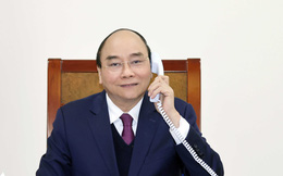 Thủ tướng Nguyễn Xuân Phúc điện đàm với TT Trump về việc Mỹ điều tra chính sách tiền tệ của VN