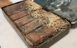 Ngỡ ngàng hộp sôcôla 120 năm vẫn còn nguyên vẹn