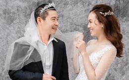 """Bộ ảnh cưới hài hước, đậm chất """"cô Đẩu"""" của NSNS Công Lý và cô dâu kém 15 tuổi"""