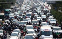 Người dân Thủ đô lại bị ám ảnh tắc đường những ngày cuối năm