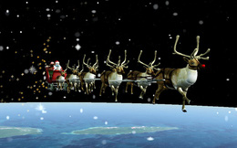Quân đội Mỹ thông báo Ông già Noel đã lên đường đi phát quà