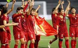 ĐT nữ Việt Nam tăng 1 bậc, xếp hạng 34 thế giới