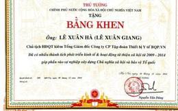 Kiến nghị làm rõ vụ nhà sư làm giả bằng khen của nguyên Thủ tướng Nguyễn Tấn Dũng