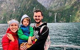 Người đàn ông một mình vượt đại dương để gặp gia đình vào dịp Giáng sinh