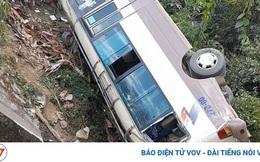 Xe khách lao xuống vực ở Điện Biên, may mắn không có thương vong