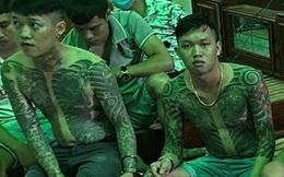 Nhóm thanh niên xăm trổ thuê nhà để sử dụng ma tuý