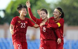 Đội tuyển nữ Việt Nam xếp hạng 5 châu Á