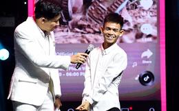 """Chàng trai chăn bò Y Tiết khiến Trấn Thành """"choáng"""" với màn nhận giải TikTok Awards"""