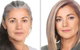 """Những pha """"biến hình"""" hoàn hảo siêu đỉnh của chị em phụ nữ, diện mạo thay đổi ngoạn mục nhìn cứ ngỡ trẻ lại cả chục tuổi"""