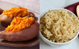 Khoai lang hay gạo lứt bổ dưỡng hơn? Đọc ngay so sánh chi tiết để chọn món tốt nhất cho bạn