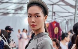 """Hoa hậu Thùy Dung làm """"nàng thơ"""" cho NTK Cao Minh Tiến"""