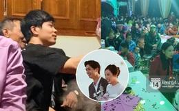 Tiệc đãi khách trước đám cưới Công Phượng ở Nghệ An: Chú rể rạng rỡ liên hoan cùng gia đình, khách đông như trẩy hội, hé lộ lễ đường cho hôn lễ ngày mai!