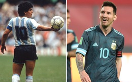 Con trai Maradona đòi Messi treo áo số 10 ở Barca và Argentina
