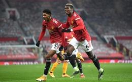 Giật 3 điểm đầy may mắn ở phút bù giờ cuối, Man United chào năm mới với ngôi nhì bảng