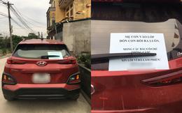 Đỗ xe bên vệ đường, người phụ nữ để lại tờ giấy với nội dung khiến tất cả tấm tắc khen