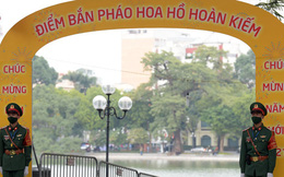 3 điểm bắn pháo hoa của Hà Nội đã sẵn sàng để đón mừng năm mới 2021