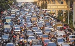 Chùm ảnh đường phố Hà Nội đông kín người từ chiều đến tối ngày cuối năm 2020