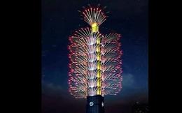 Ý nghĩa màn bắn pháo hoa đón năm mới tại Đài Loan (Trung Quốc)