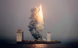 Trung Quốc xây bệ phóng tên lửa trên biển
