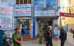 Công an bao vây khám xét nhà thuốc Sơn Minh - Sĩ Mẫn ở Biên Hòa
