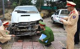 Lái xe bán tải đâm chết người rồi tiếp tục gây tai nạn liên hoàn trên đường bỏ trốn
